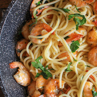 Easy Italian Pasta Shrimp