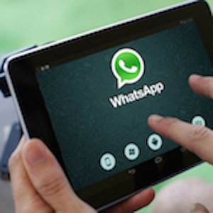 Guide for whatsapp tablets