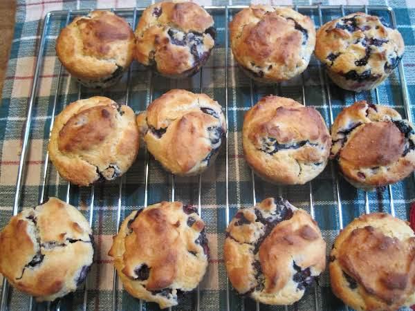 Blueberry Muffins With A Lemon Twist                   Gluten Free
