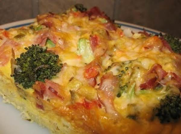 Hashbrown Crusted Brunch Casserole