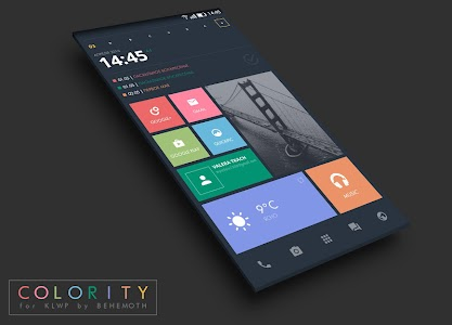 Colority Theme for KLWP v1.0