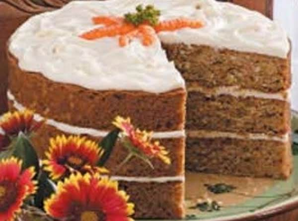 Coconut Carrot Cake Recipe