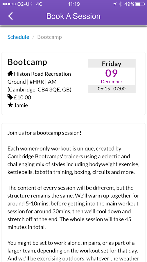 C Bootcamps- screenshot