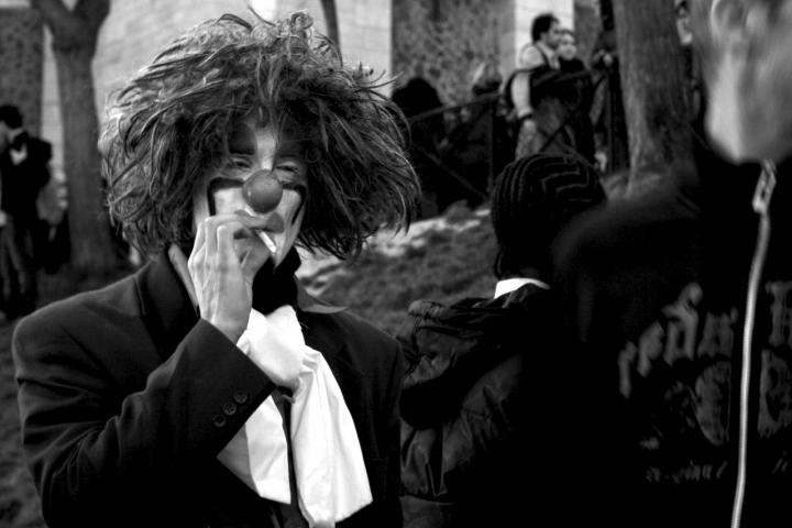 Pausa sigaretta di mocio