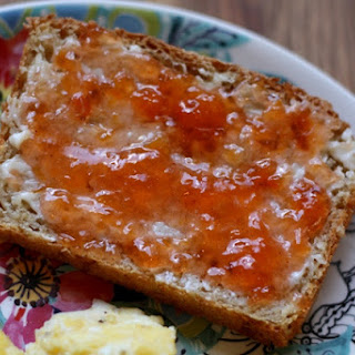 Homemade Peach Jam.