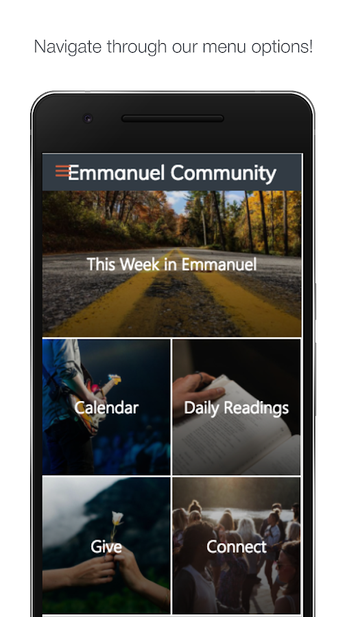Emmanuel Community- screenshot