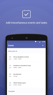 Calendar - Agenda and Holidays - náhled