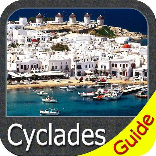 Cyclades GPS Map Navigator