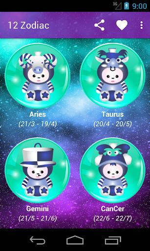 12 Zodiac 2015 Free