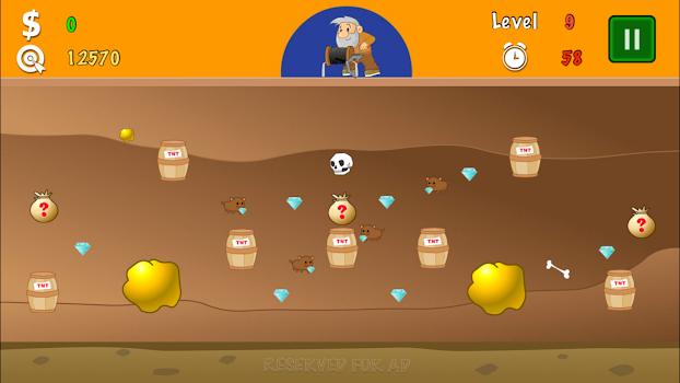 Gold Miner Classic Origin