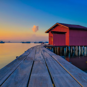 Tan Jetty Penang, Malaysia by Adi Affendi - Buildings & Architecture Bridges & Suspended Structures
