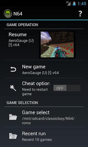 ClassicBoy (Emulator)  captures d'u00e9cran 2