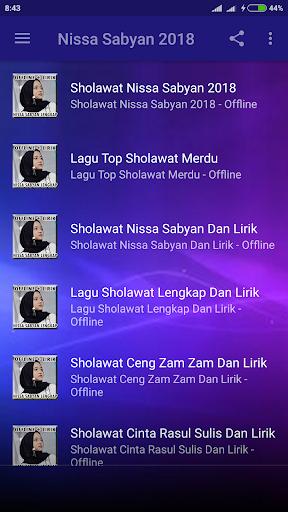 Sholawat Nissa Sabyan Lengkap Offline 1.0 screenshots 1
