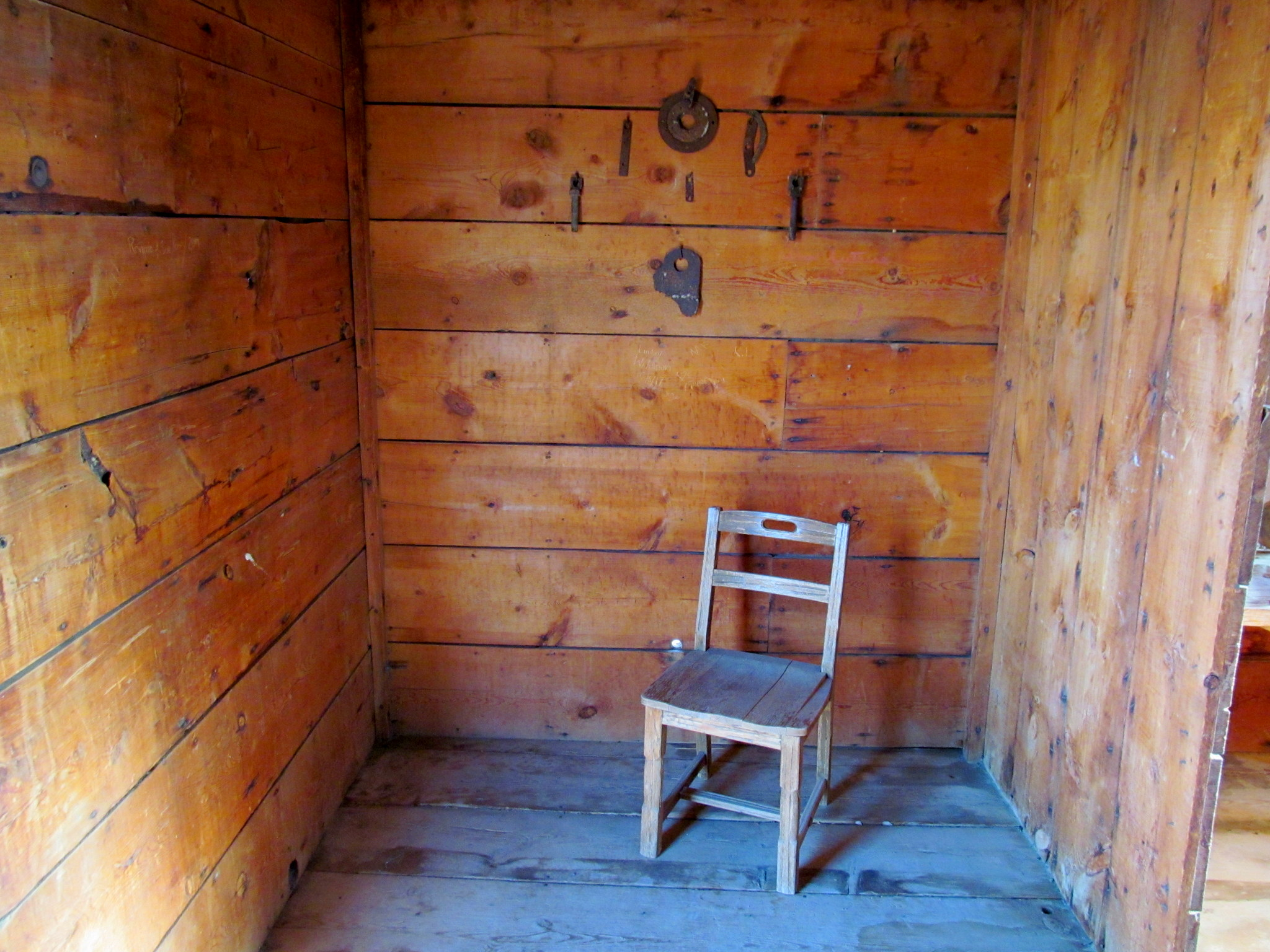 Photo: Chair inside the jail