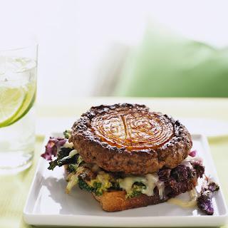 Bulls-Eye Onion Burgers