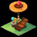チョコデッキチェア(クッキー)