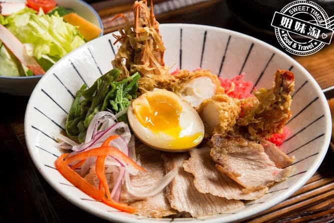 墨吉日本料理司極品雙脆丼