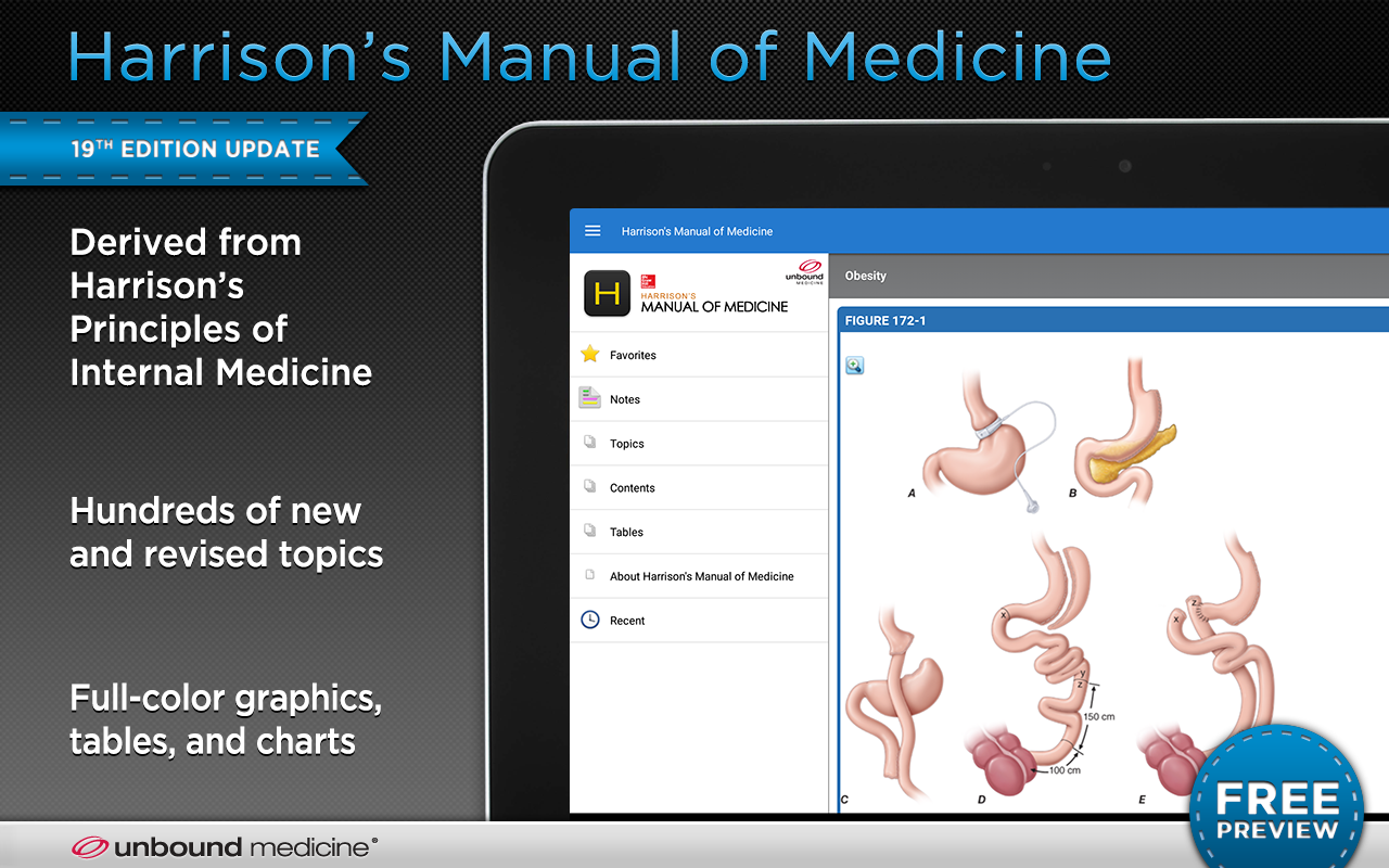 Harrison's Manual of Medicine- screenshot