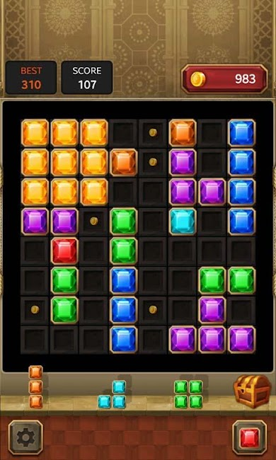#1. Block Quest : Jewel Puzzle (Android)