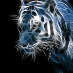 Neon Animals Wallpaper Theme icon