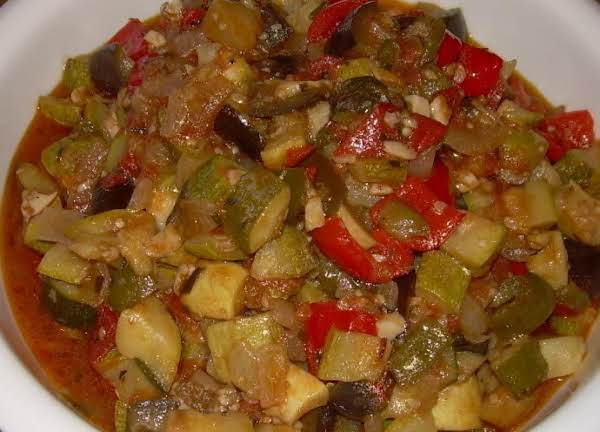 Garden Stew (ratatouille) Recipe