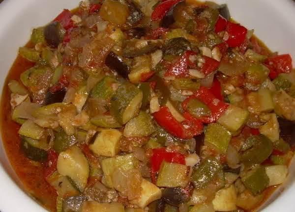Garden Stew (ratatouille)