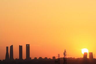 Photo: Madrid despierta