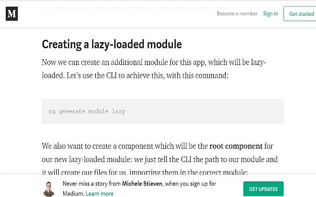 Remove Medium.com Overlays