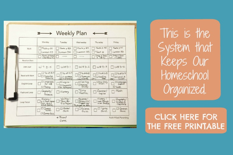 feel free to grab the weekly plan assignment sheets by clicking the image below
