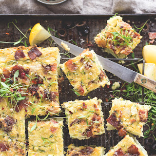 Zucchini Slice Capsicum Recipes