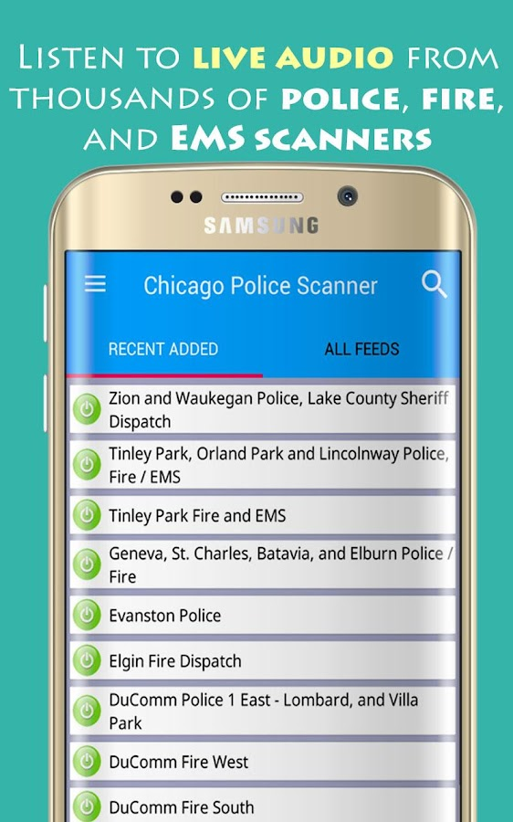 Chicago Police Scanner Radio- screenshot