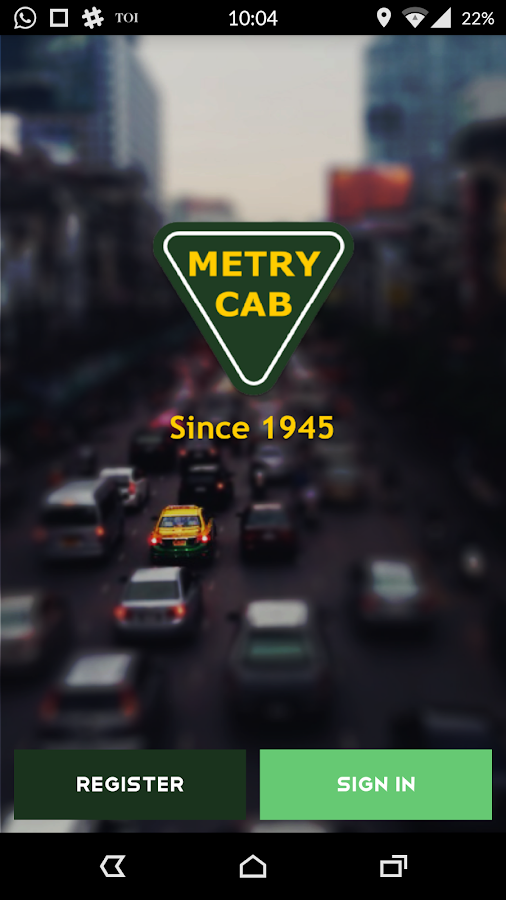 Metry Cab- screenshot