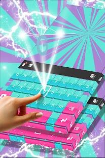 Barevné klávesnice pro Android - náhled