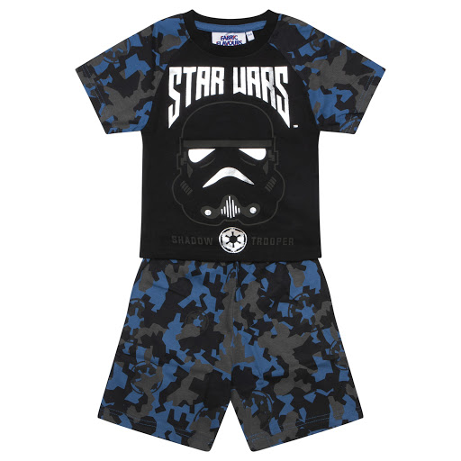 Thumbnail images of Fabric Flavours Camo Star Wars Pyjamas
