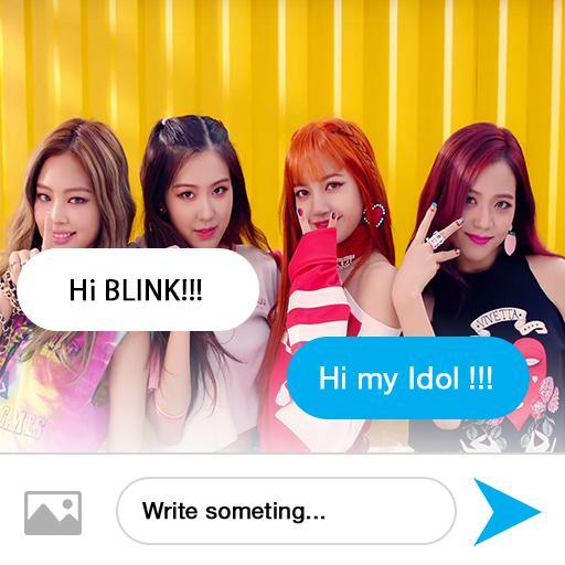 Black PinK Fake Messenger 1.0.2 screenshots 1