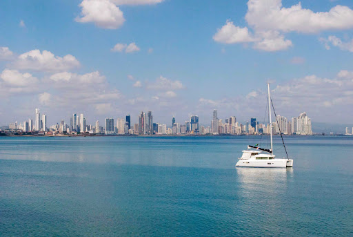 Panama-City-skyline - The Panama City skyline.