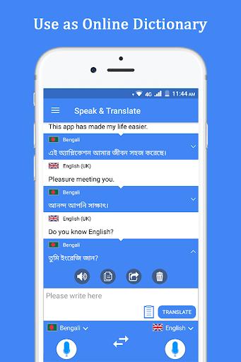 Speak and Translate Voice Translator & Interpreter screenshot 8