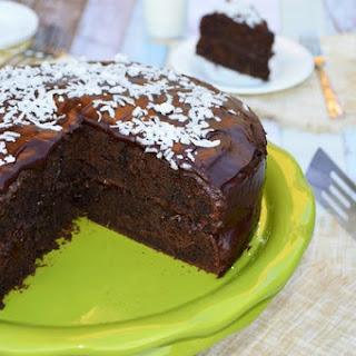 Gluten Free Chocolate Coconut Zucchini Cake