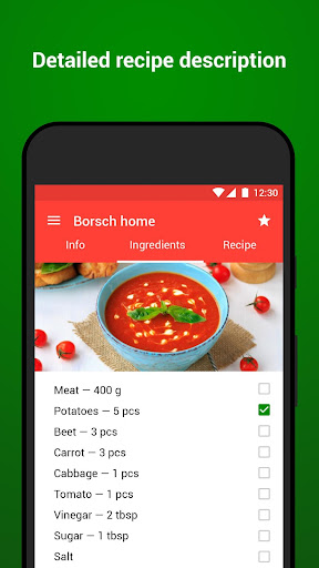 Recipes with photo from Smachno 1.63 screenshots 2