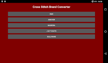 Cross Stitch Brand Converter - screenshot thumbnail 07