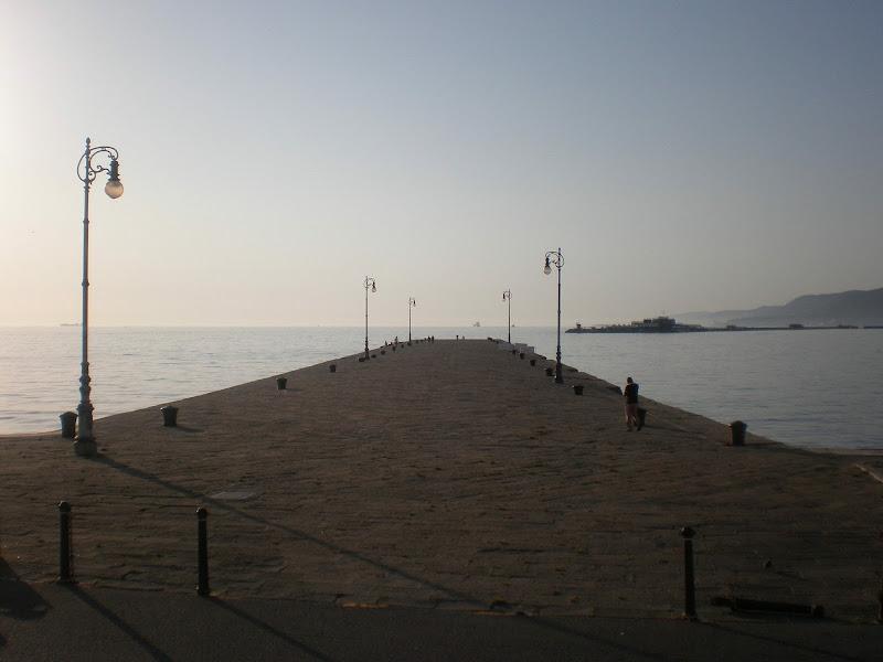 Il pontile sul mare  di Flavy