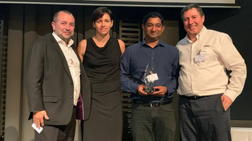 From left: Tony de Sousa, business unit manager: Enterprise at Datacentrix; Ziggi Olsen, partner account manager at Citrix; Megren Naidoo, enterprise software business unit leader at Datacentrix; and Brendan McAravey, Citrix country manager: South Africa