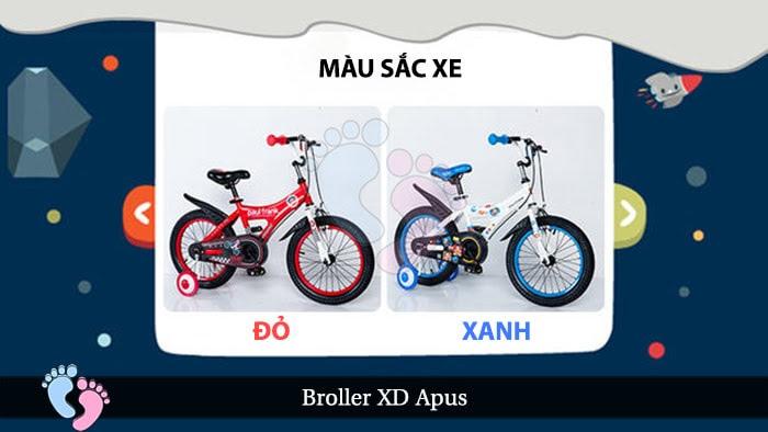 Xe đạp cho bé Broller XD Apus 9