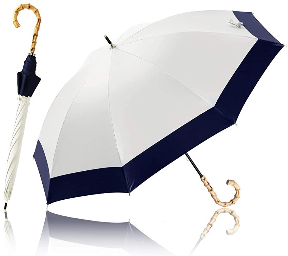 日傘 長傘 完全遮光 UVカット
