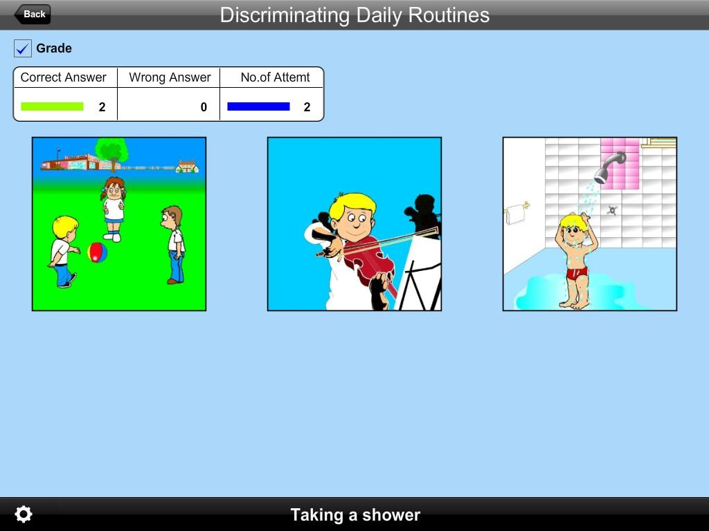 Discrimi Daily Routines Lite- screenshot