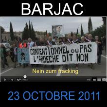 """Photo: Résistance: http://www.youtube.com/watch?v=W1JMz1BhBJE&feature=email   Version: Deutsch et/ und Francaise  """"Face à la détermination des habitants et des élus est face à une énorme le mobilisation le gouvernement nous offre l'abrogation de 3 permis. Il est reste encore 61 dont 4 pour le Gard: Plaine Alés 503 km2 Navcelles:216 km2 Bassin Alés 215 km2 Nimes 507 km2"""". Source , Quelle: collectif 30"""