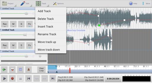 MixPad Multitrack Mixer Free screenshot 7
