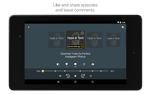 Spreaker Podcast Radio – Miniaturansicht des Screenshots