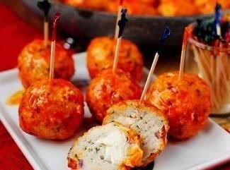 Buffalo Chicken Meatballs