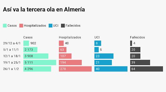 Lo que dejó Navidad: 16.390 casos, 278 hospitalizados y 147 fallecidos